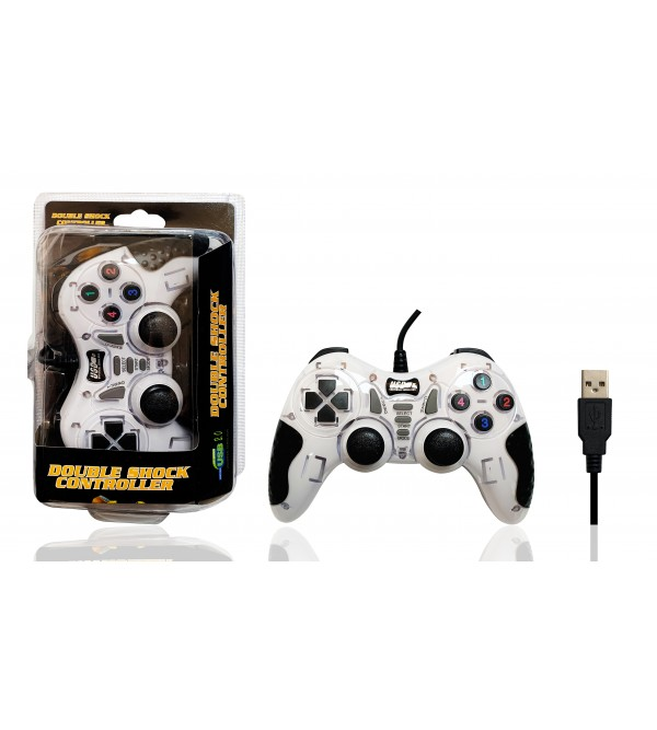 PL-2585 DOUBLE SHOCK CONTROLLER USB 2.0 GAME PAD
