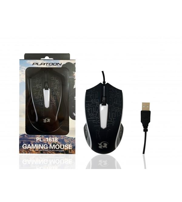 PL-1618 RGB IŞIKLI OYUNCU USB MOUSE