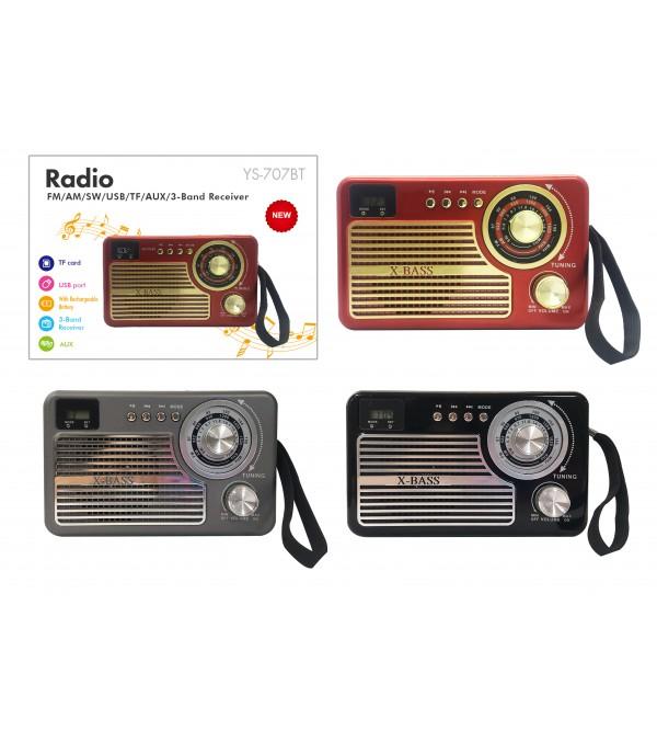 PL-4005 SD/USB/AUX/FM NOSTALJİ BLUETOOTH SPEAKER
