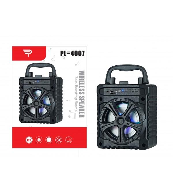 PL-4007 SD-USB BLUETOOTH IŞIKLI SPEAKER