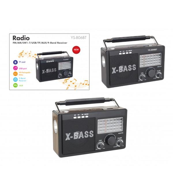 PL-4113 SD/USB/AUX/FM BLUETOOTH GÜNEŞ ENERJİLİ...