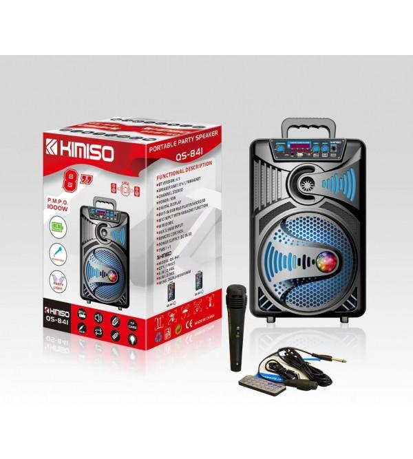 PL-4240 SD-USB 8inc 1000W KUMANDALI MİKR.BLUETOOTH IŞIKLI SPEAKER