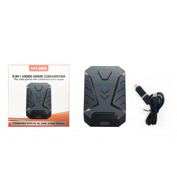 PL-5660 5 IN 1 VIDEO GAME CONVERTER USB HUB