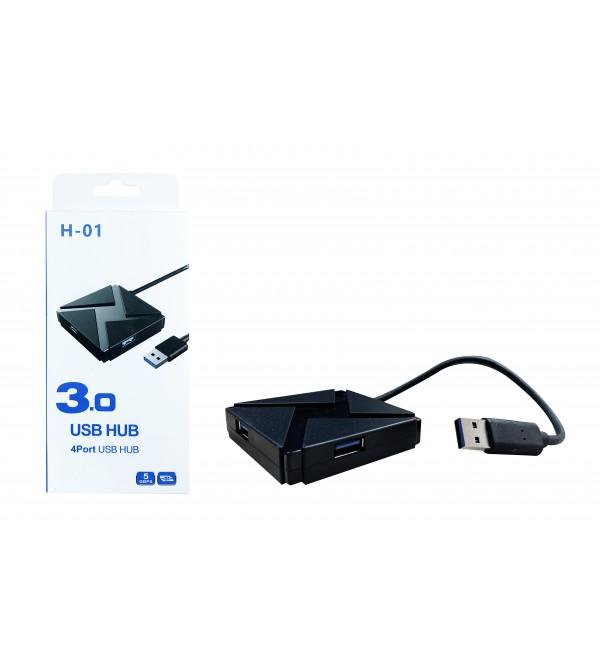 PL-5718 4LU 3.0 USB HUB