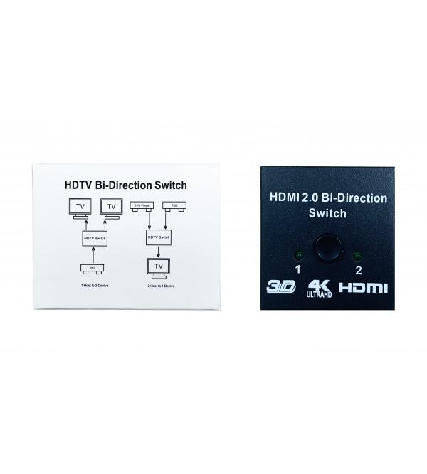 PL-7231 4K 2PORT HDMI SWITCH SPLITTER