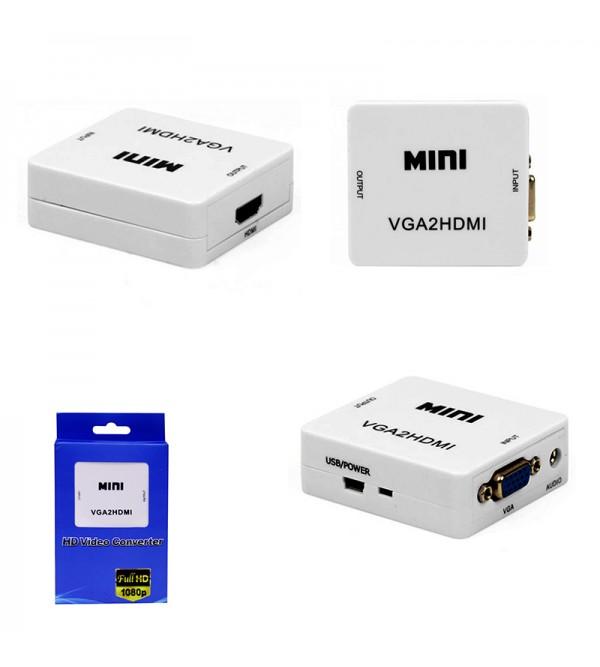 PL-8419 HDMI TO VGA ÇEVİRİCİ APARAT