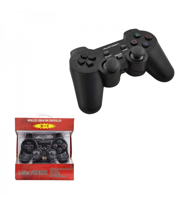 PL-2860 PC/PS2/PS3 ANALOG DUAL SHOCK WIRELESS GAME...