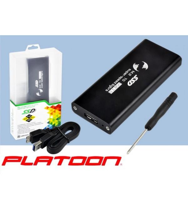 PL-8894 mSATA SSD USB 3.0 HDD BOX