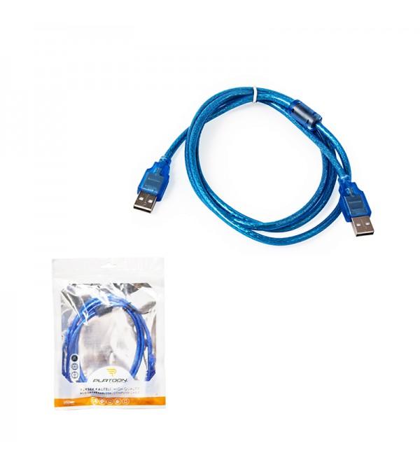 PL-5208 USB 2.0 M/M 1.5M KABLO