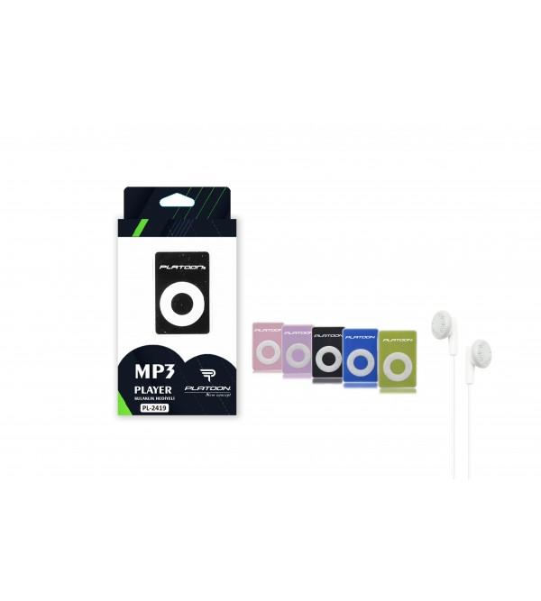 PL-2419 HAFIZASIZ MP3 PLAYER KUTULU