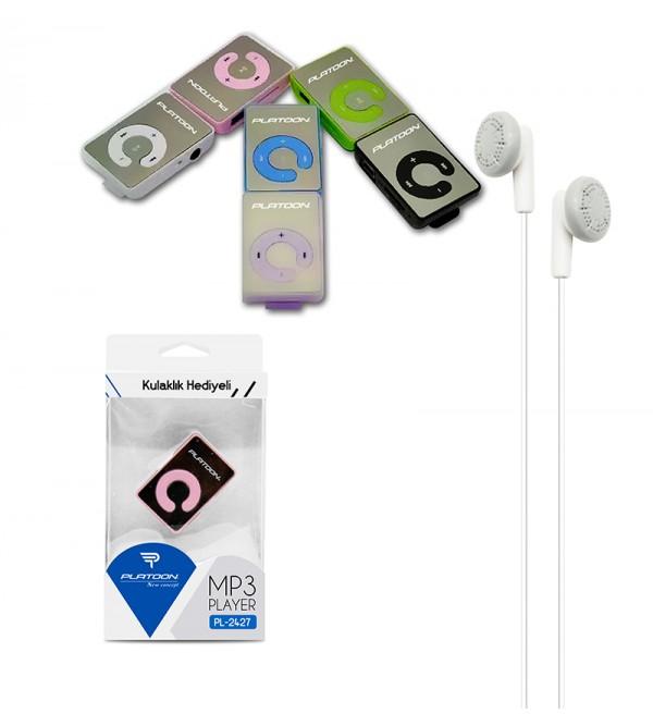 PL-2427 HAFIZASIZ MP3 PLAYER KUTULU