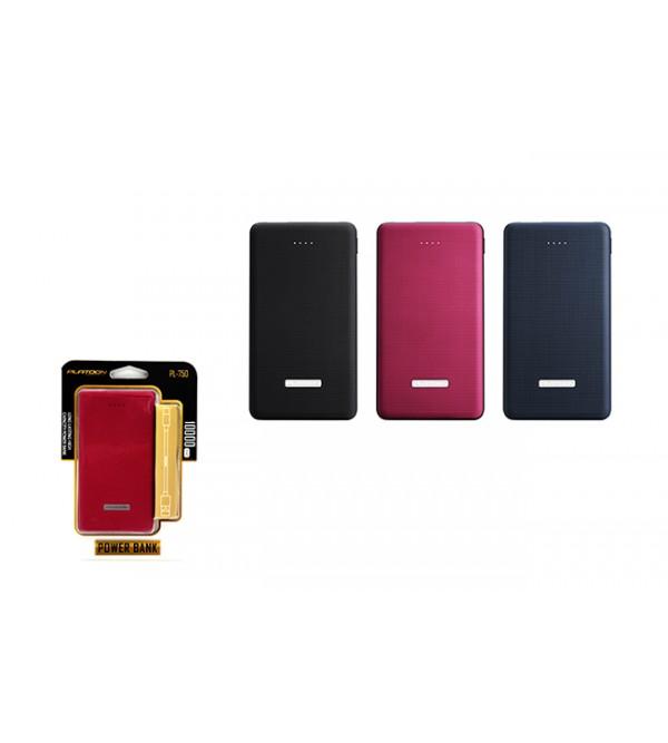 PL-750 POWER BANK 10000 MAH 2 USB