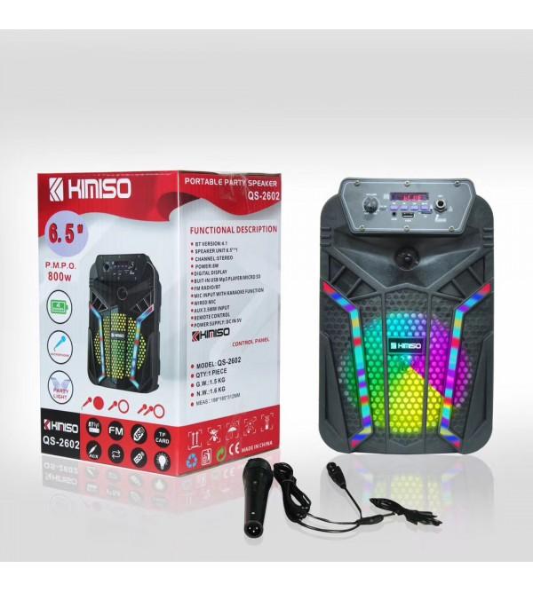 PL-4435 BLUETOOTH SPEAKER KARAOKE MİC. USB/SD