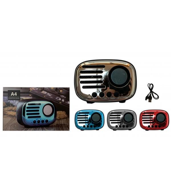 PL-4455 SD-USB FM BLUETOOTH SPEAKER