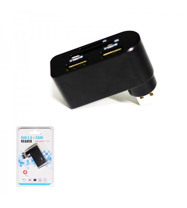 PL-5570 2 PORT USB HUB VE CARD OKUYUCU