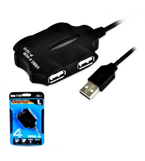 PL-5701 4LÜ USB 2.0 HUB 1 M