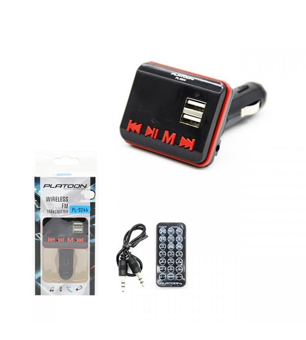 PL-9244 1.8 TFT BLUETOOTH FM TRANSMITTER SD/USB