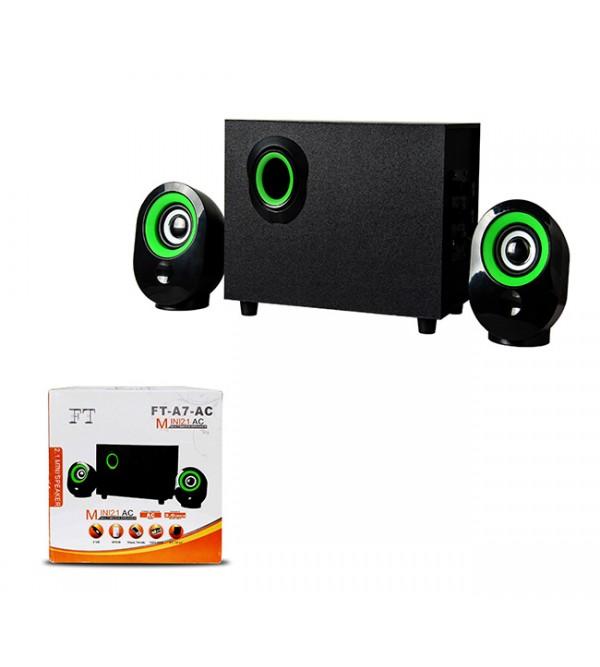PL-4237 BLUETOOTH SPEAKER FM/SD/USB  2+1